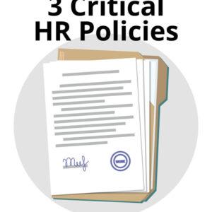 3 HR Policies